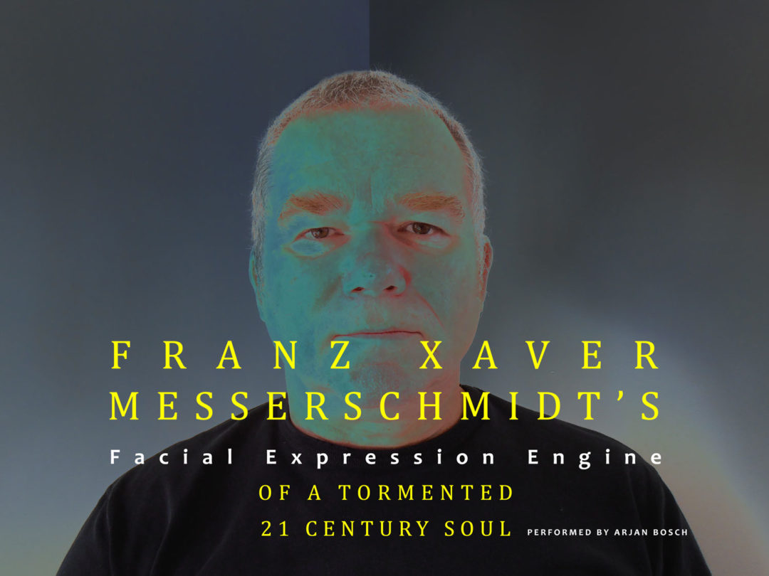 Arjan Bosch presenteert zijn project 'The Facial expression engine OF A TORMENTED 21 CENTURY SOUL'